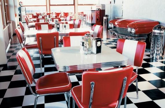 Diner Möbel: Herstellung in eigener Fabrik - Jolina Retro Möbel