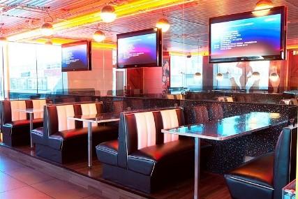amazing sie stellen selbst ein american diner set zusammen natrlich mit american furniture von jolina with sitzecke american diner style with retro - Natrliche Hickory Holzbden