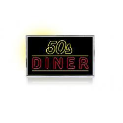 Neon 50's Diner