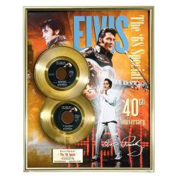 """Vergulde gouden plaat - Elvis Presley """"The 68 Special"""""""