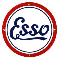 Emaille bord Esso