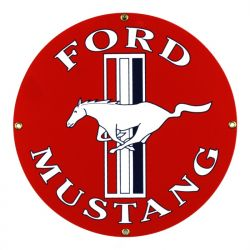 Emaille bord Ford Mustang