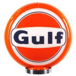 Benzinepomp bol Gulf Logo