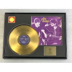 "Vergulde gouden plaat - THE EVERLY BROTHERS ""EB 84"""