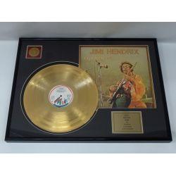 """Vergulde gouden plaat - Jimi Hendrix """"Experience"""""""