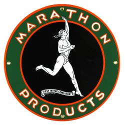 Emaille bord Marathon Products