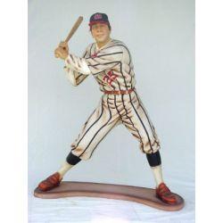 Statue Baseball Player Lifesize