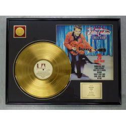 """Vergulde gouden plaat - EDDIE COCHRAN """"20 GOLDEN TRACKS"""""""