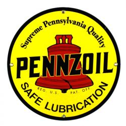 Emaille bord Pennzoil