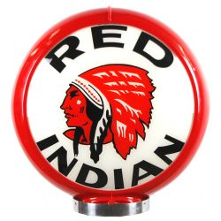 Benzinepomp bol Red Indian