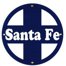 Emaille bord Santa Fe