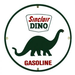 Emaille bord Sinclair Dino