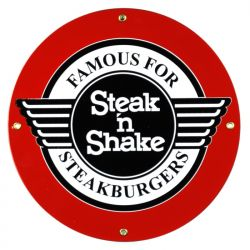 Emaille bord Steak 'n Shake