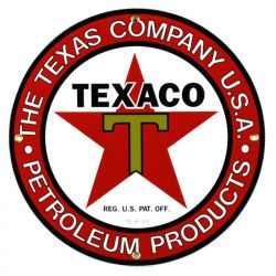 Emaille bord The Texas Company