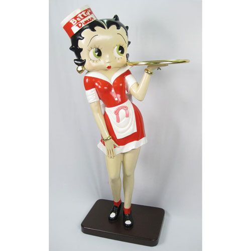 Betty Boop Waitress 5.5ft