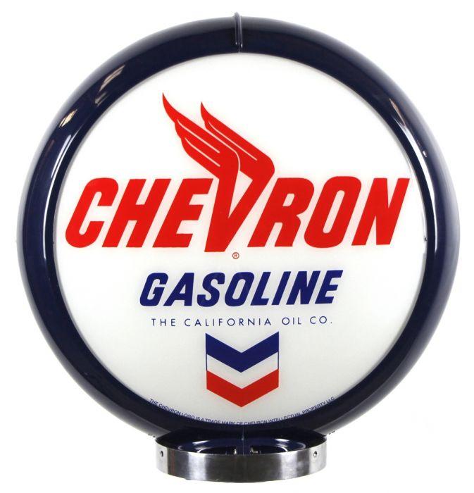 Benzinepomp bol Chevron Gasoline