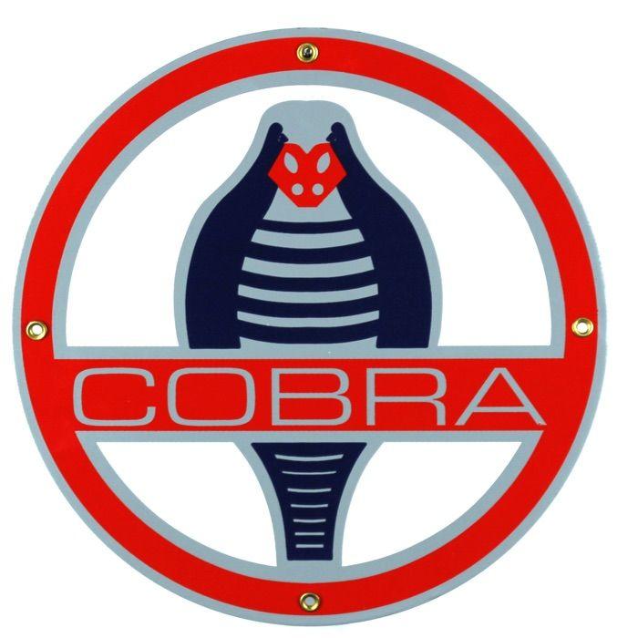 Emaille bord Cobra