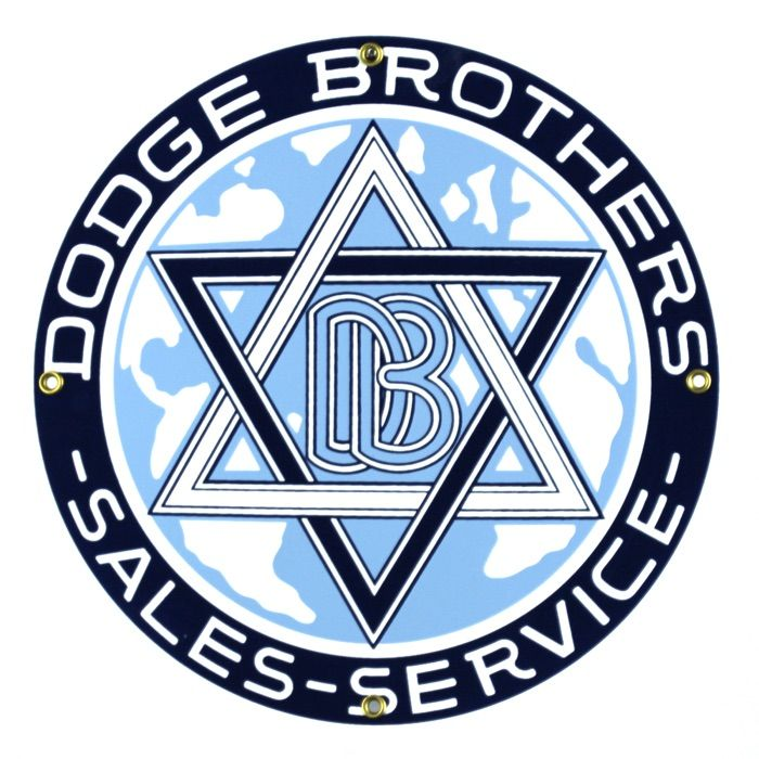 Emaille bord Dodge Brothers