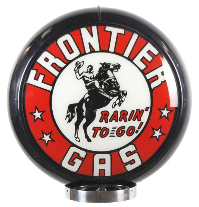 Benzinepomp bol Frontier Gas