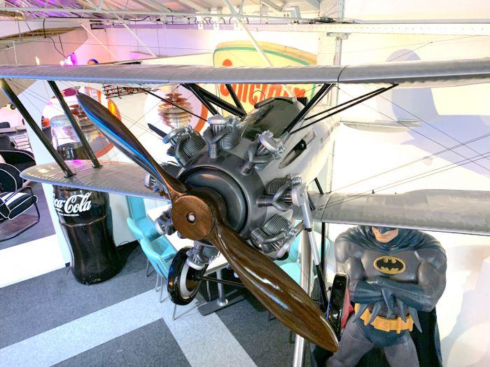 Bristol Bulldog 7ft Airplane model