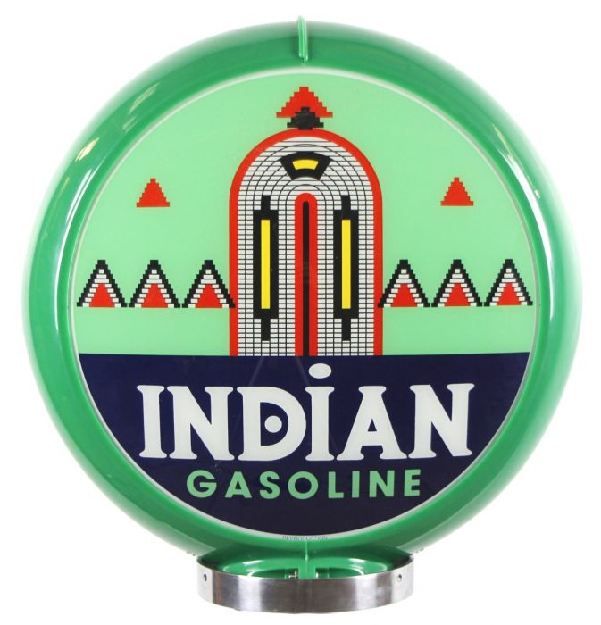 Benzinepomp bol Indian Gasoline