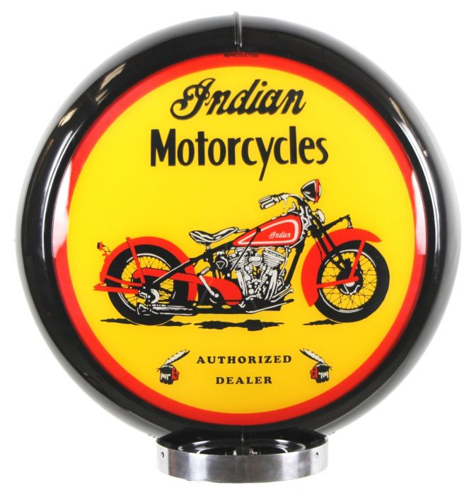 Benzinepomp bol Indian Motorcycles Black
