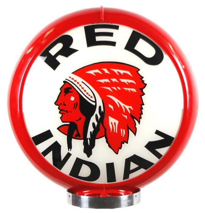 Benzinepomp bol Red Indian