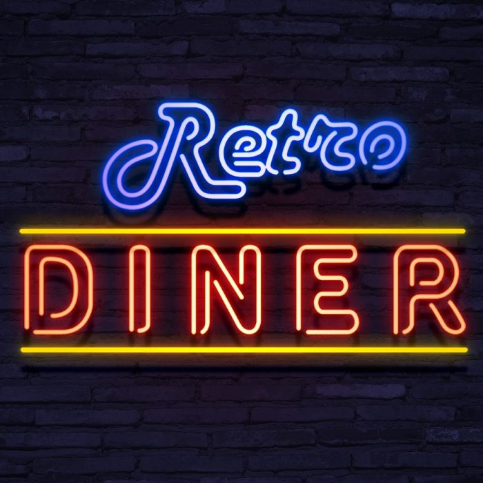 Neon Retro Diner