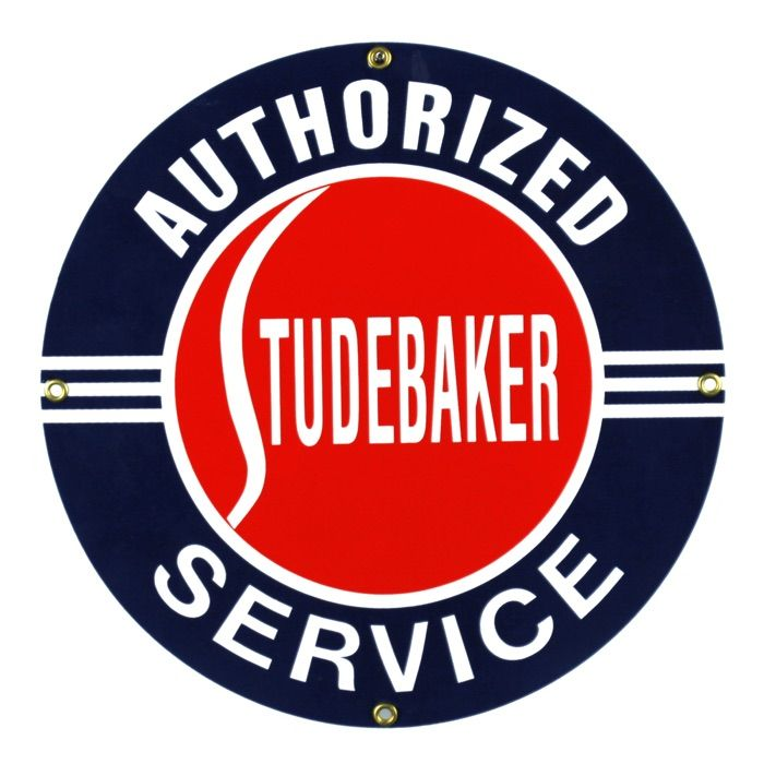 Emaille bord Studebaker