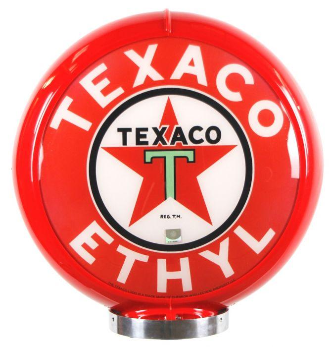 Benzinepomp bol Texaco Ethyl Red