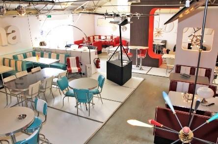 50er jahre st hle esszimmer und loungest hle jolina retro m bel. Black Bedroom Furniture Sets. Home Design Ideas