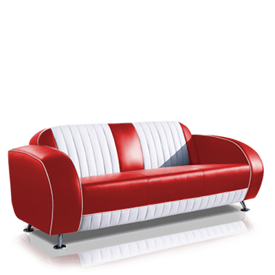 Retro meubels in bel air fifties stijl jolina products jolina products - Interieur decoratie restaurant ...